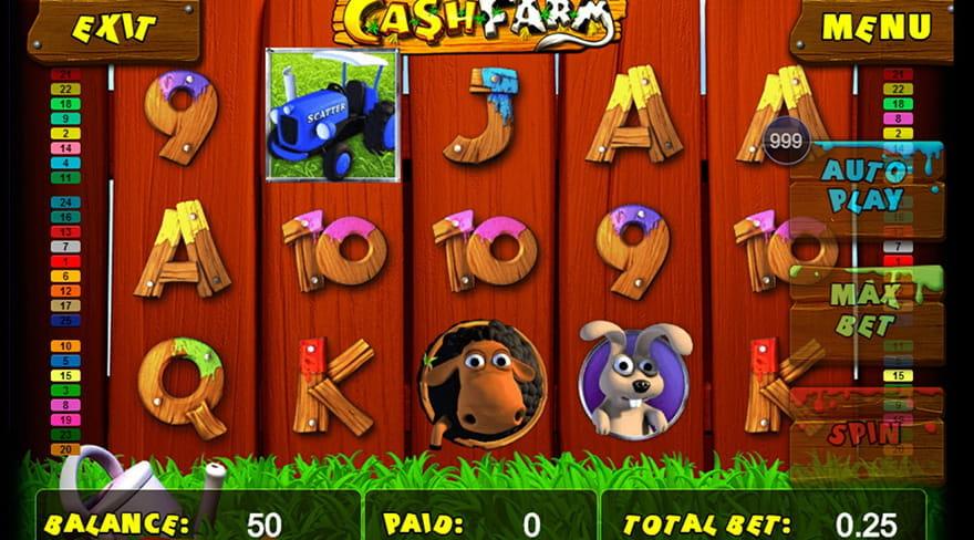 3D Farm Slot Machine