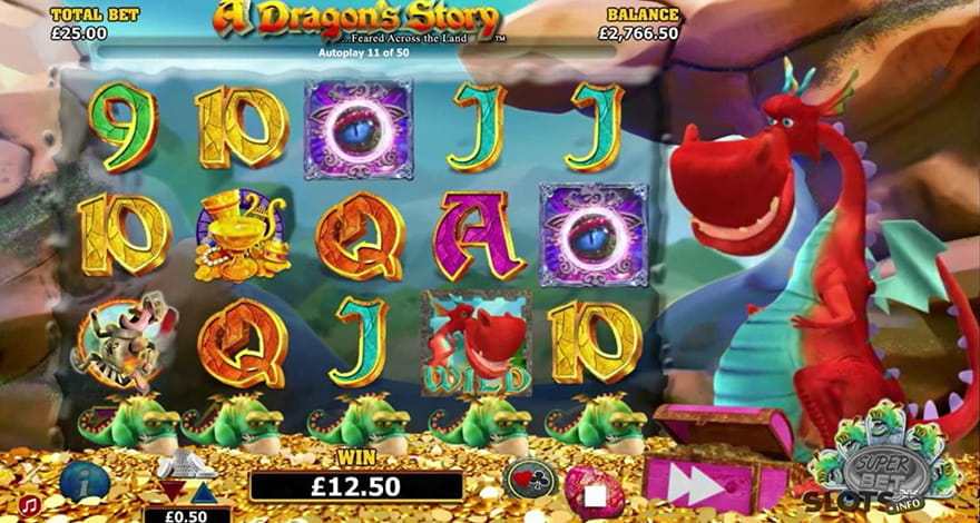Dragons Slot Machine A Dragon's Story