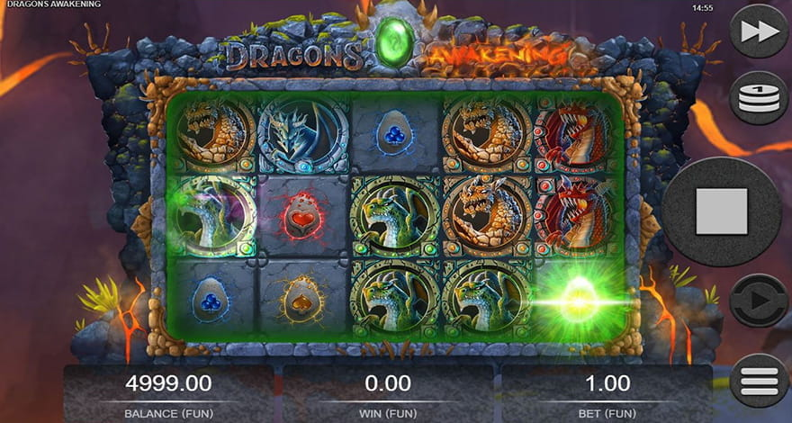 Dragons Slot Machine Dragons Awakening