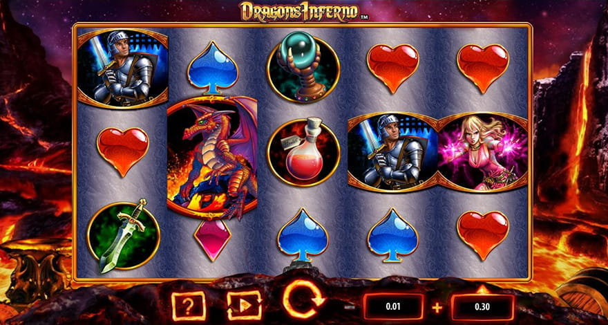 Dragons Slot Machine Dragon's Inferno