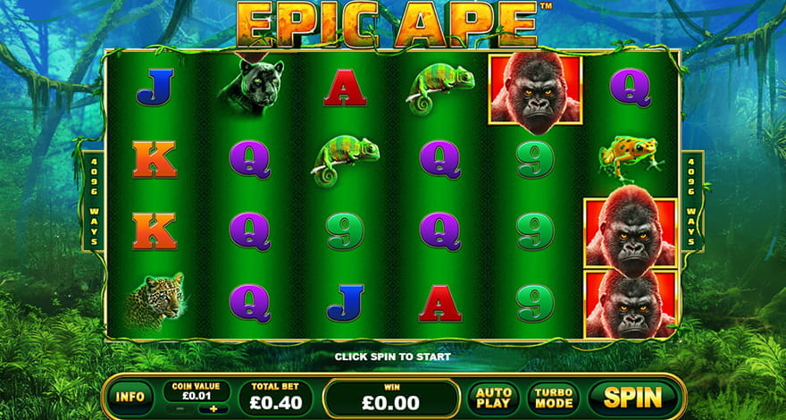 Try Your Luck on Epic Ape