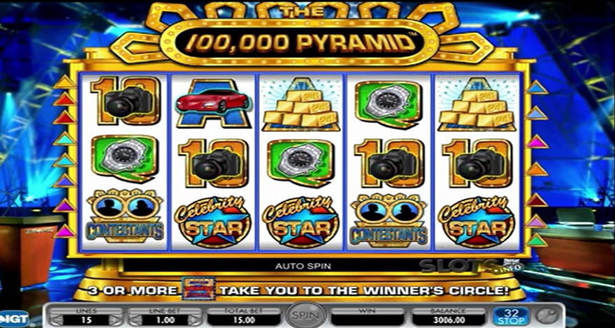 Game Show Slots The 100,000 Pyramid