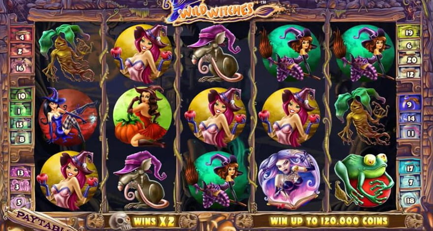 Magic Slots Wild Witches