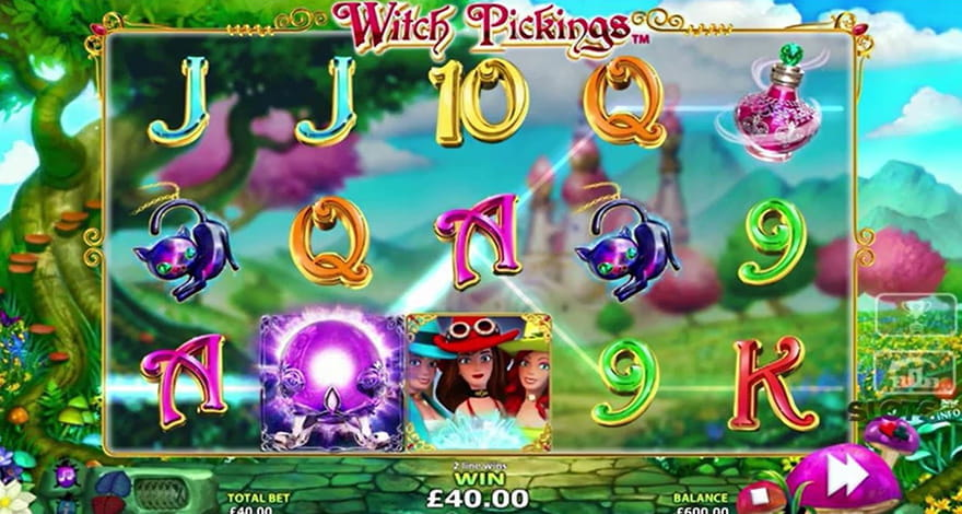 Magic Slots Witch Pickings