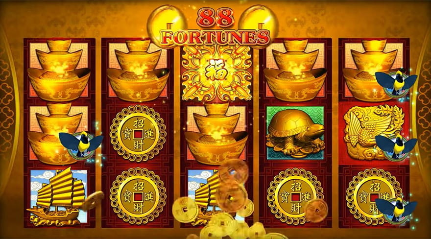Online Chinese Slots 88 Fortunes