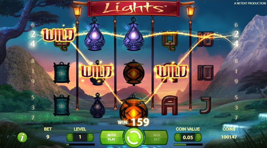 Online Chinese Slots Lights