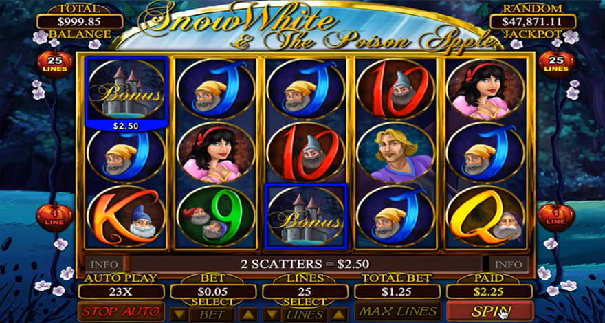 Snow White and the Poison Apple Slot by Betsoft