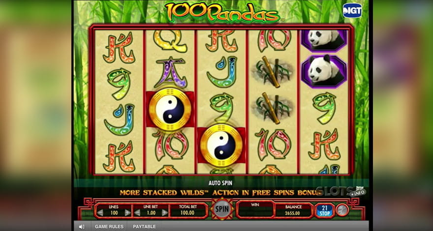 100 Pandas Slot by IGT