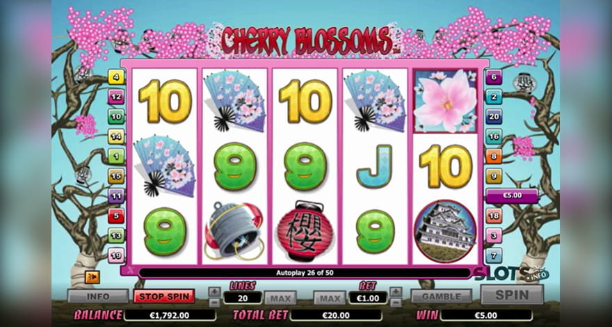 Cherry Blossoms Slot by NextGen