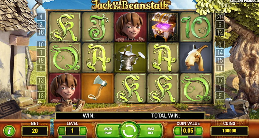 Grow Your Luck with Jack and the Beanstalk Slot Game