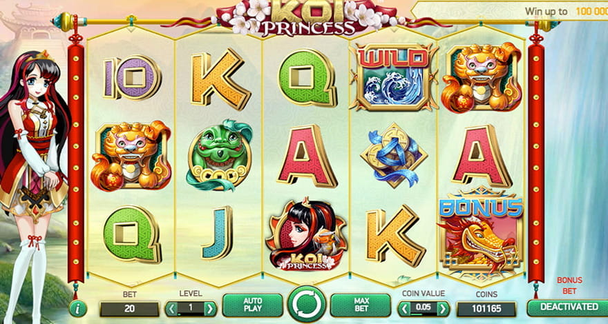 Koi Princess Slot by NetEnt