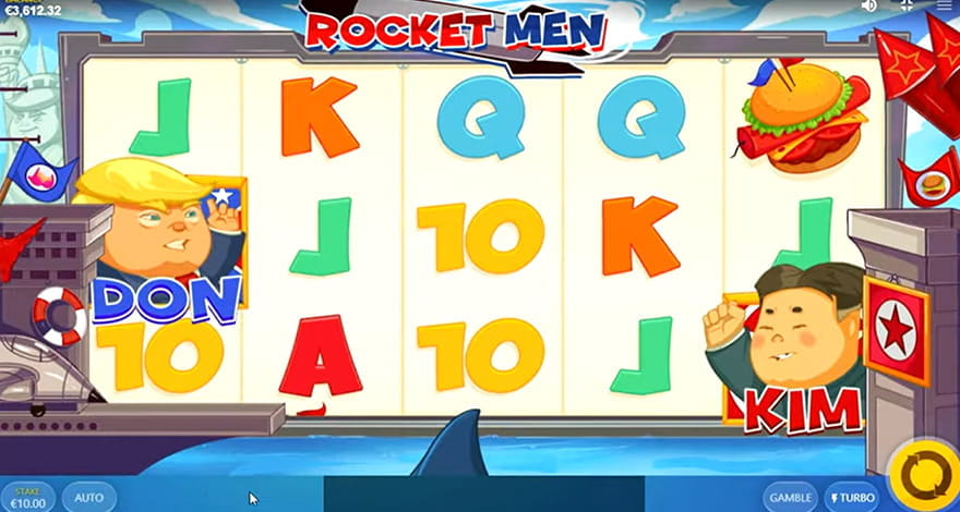 Rocket Men Slot by Red Tiger