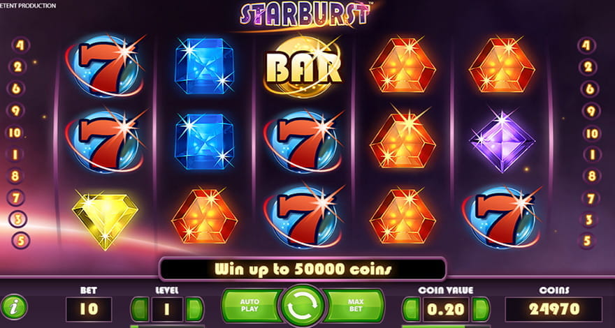 Starburst Slot by NetEnt
