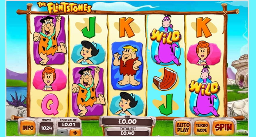 Place Your Bet on The Flintstones Cartoon Slot