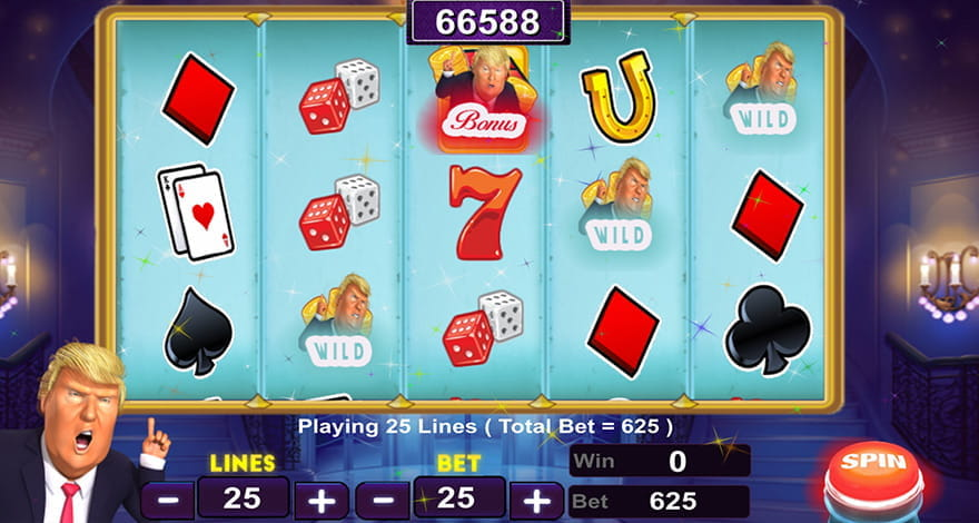 Trump Casino Slots by Adictivo