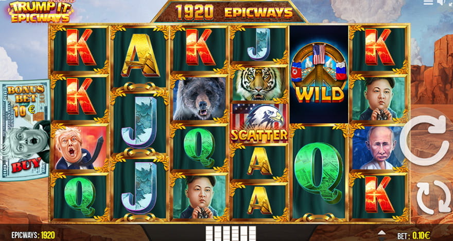 Trump It Deluxe Epicways Slot by Fugaso