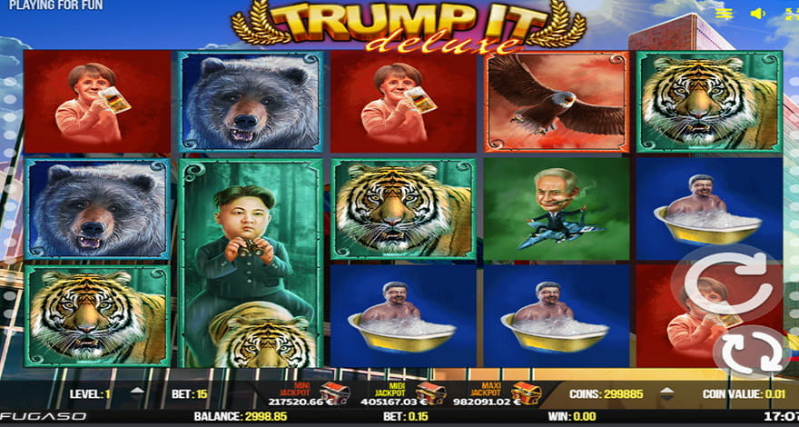 Trump It Deluxe Slot by Fugaso