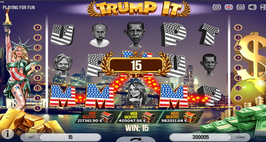 Trump It Slot by Fugaso