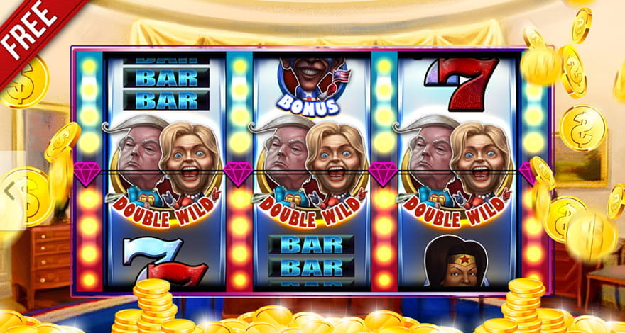 Trump v Clinton Slot by Megarama