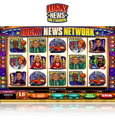 Lucky News Network Game