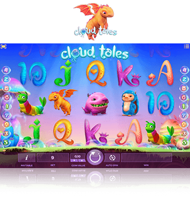 In-game view of Cloud Tales online slot