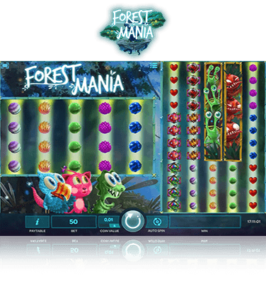 Forest Mania game in play mode