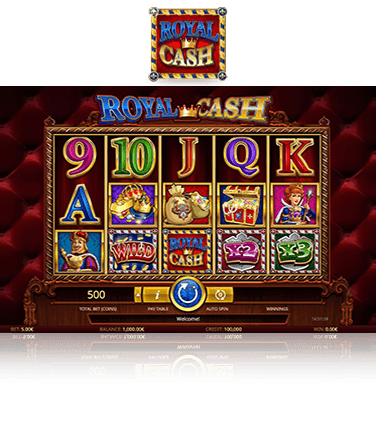 Royal Cash game in play mode