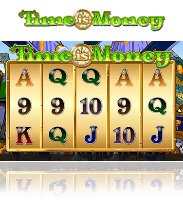 The Time is Money slot game in action