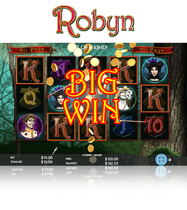 Robyn slot in-game view