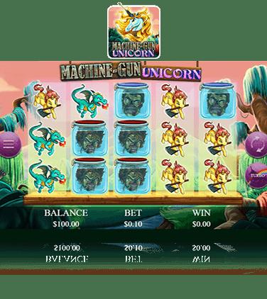 Spiele Machine-Gun Unicorn - Video Slots Online