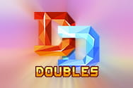 Doubles slots game logo