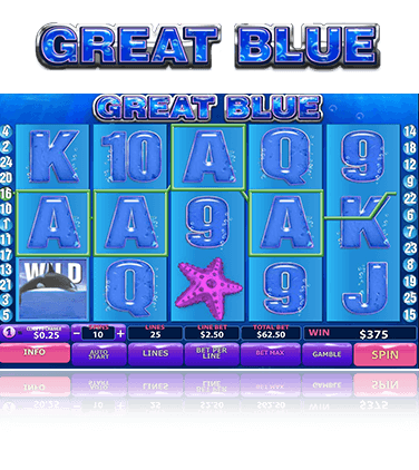 Playtech Great Blue Game