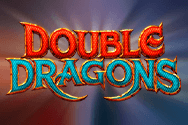 The Double Dragons slot logo