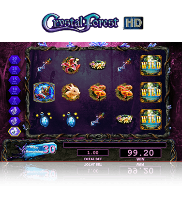 Crystal Forest Game