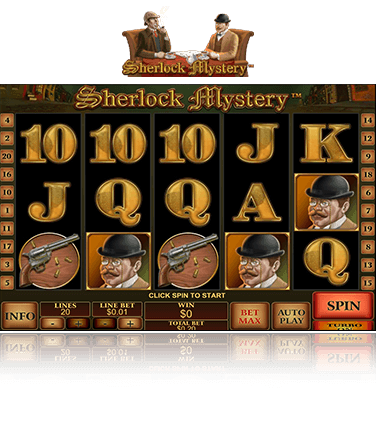 PlayTech Sherlock Mystery Game