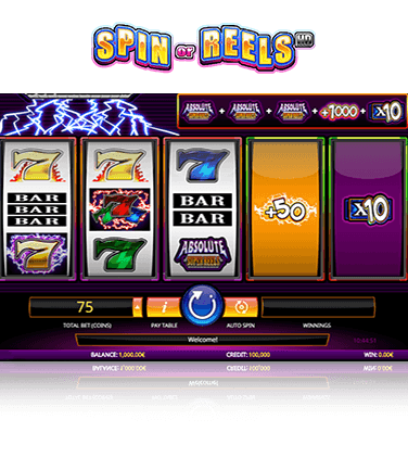 In-game action from Spin or Reels HD slot
