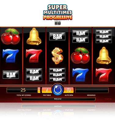 Super Multitimes Progressive Game