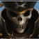 The Skull Pirate symbol in the Treasure Island slot.