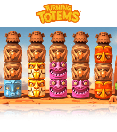 In-game view of Turning Totems slot
