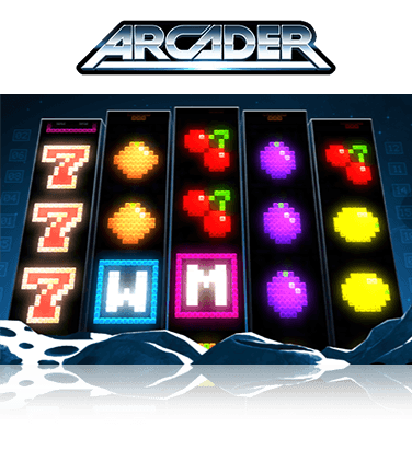 In-game view of Arcader slot