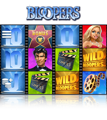 In-game view of Bloopers slot