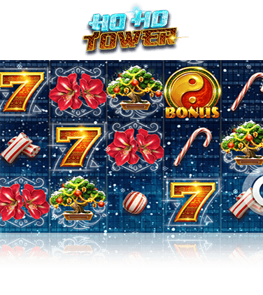 In-game view of Ho Ho Tower slot