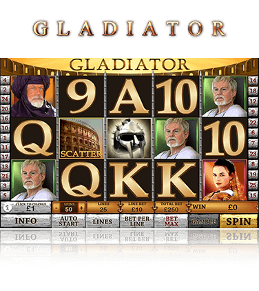 PlayTech Gladiator Game