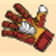 Glove symbol in Golden Goal slot