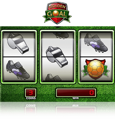 In-game view of Golden Goal slot