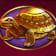 Turtle symbol in Golden Legend slot