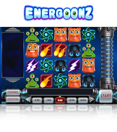 In-game view of Energoonz slot