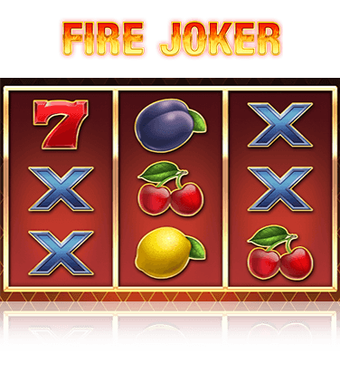 In-game view of Fire Joker slot