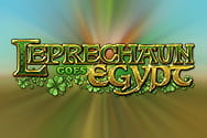 Preview of Leprechaun Goes Egypt slot