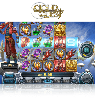 In-game view of Cloud Quest slot